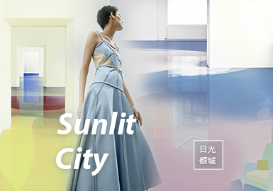Sunlit City -- The Theme Trend for S/S 2022