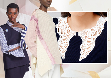 Mixed Materials -- The Craft Trend for Women's Knitwear