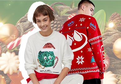 Merry Christmas -- The Festival Design Capsule for Men's and Women's Knitwear