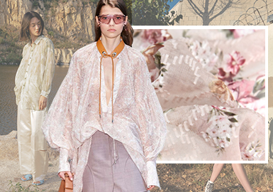 Ethereal and Elegant -- The Pattern Trend for Women's Chemical Fiber Fabrics