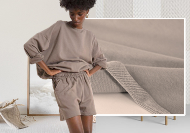 Elevated and Recreated -- The Trend for Women's Knitted Fabrics