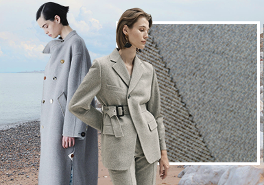Natural Way -- The Wool Fabric Trend for Women's Outerwear