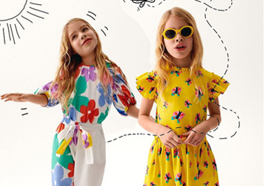 Fun and Beautiful Patterns -- Stella McCartney The Kidswear Benchmark Brand