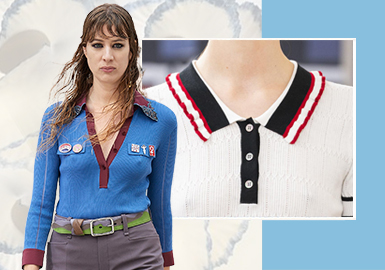 Polo Neck -- The Detail Craft Trend for Women's Knitwear