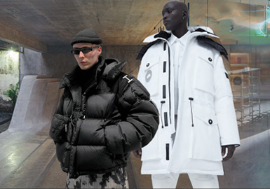 Graceful Warmth -- The Silhouette Trend for Men's Cotton Down Coat