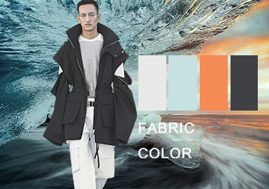 Science and Technology -- The Chemical Fiber Fabric and Color Trend for Menswear