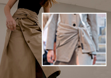 Various Knots -- The Detail Craft Trend for Womenswear