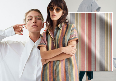 New-Emerging Comfort -- The Fabric Trend for Women's Shirt (Texture)
