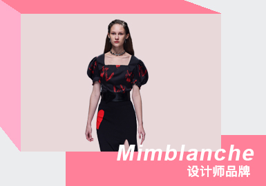 Avant-Garde Street -- The Analysis of Mimblanche The Womenswear Designer Brand