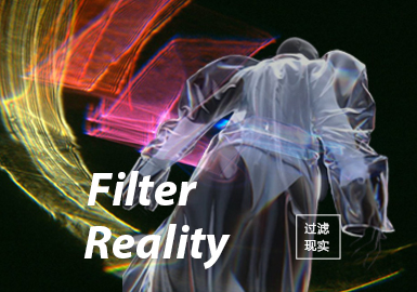 Filter Reality -- S/S 2022 Theme Fabric Trend for Womenswear