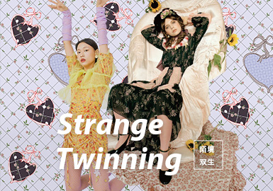 Strange Twinning -- The Pattern Trend for S/S 2022 Theme