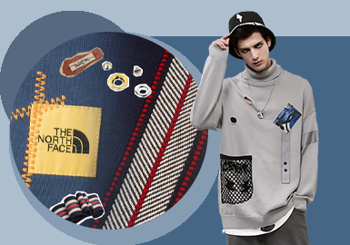 Delicate Decoration -- The Accessory Trend for Men's Knitwear