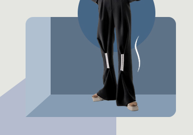 Placement Evolution -- The Silhouette Trend for Women's Trousers