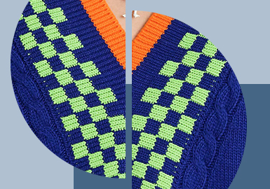 Fun Jacquard -- The Pattern Craft Trend for Men's Knitwear