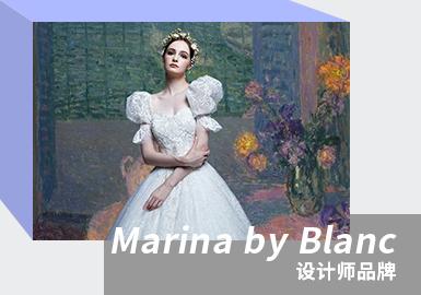 Integrated Elegance -- The Analysis of Marina By Blanc The Women's Wedding Dress Designer Brand