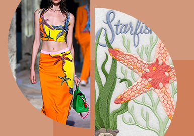 Marine Creature -- The Trend for Pattern Craft