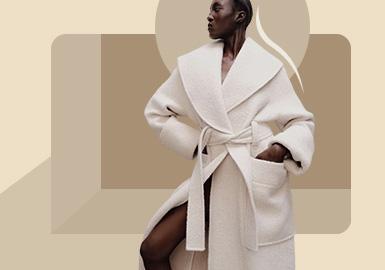 Shoulder Modelling -- The Silhouette Trend of Women's Overcoat