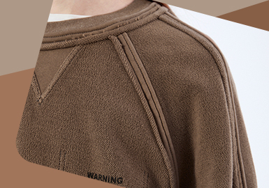 Delicate Sweatshirt -- The Detail Craft Trend for Men's Sweatshirt