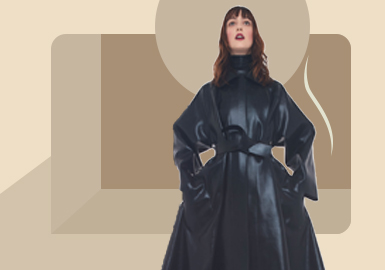 Jane-European Commuting Dressing -- The Silhouette Trend for Women's Leather and Fur