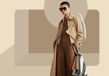 Classic Silhouettes -- The Silhouette Trend for Women's Overcoat