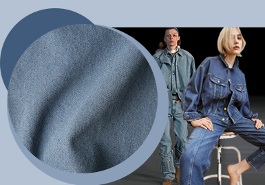 Pure and Plain -- The Fabric Trend for Men's and Women's Denim