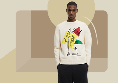 Renewed Fashion -- The Silhouette Trend for Men's Knitwear and Pullover