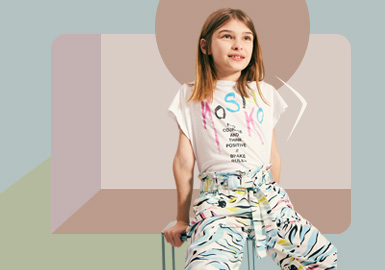Comfortable Keynote -- The Silhouette Trend for Girls' Wear