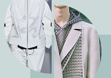 Cutout Design -- The Pattern Craft Trend for Menswear