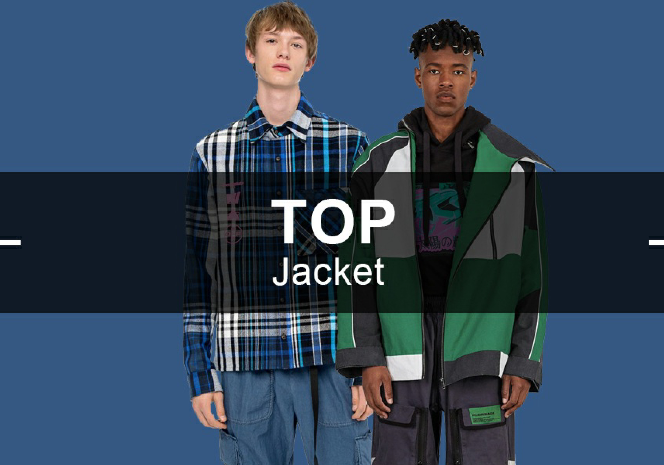 The Jacket -- Popular Items in Menswear Markets