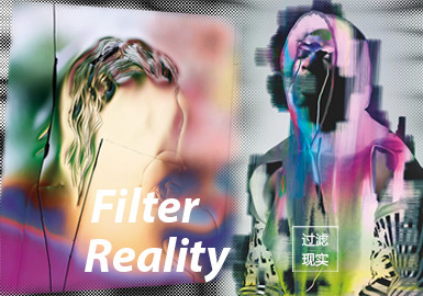 Filter Reality -- The Pattern Trend for S/S 2022 Theme