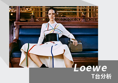 Virtual Feast -- The Womenswear Catwalk Analysis of LOEWE