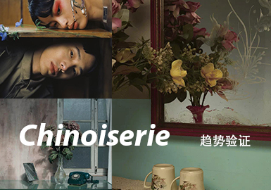 CHINOISERIE -- The Trend Confirmation of Menswear Theme Color