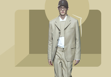 New Business Tonality -- The Silhouette Trend for Men's Business Outerwear
