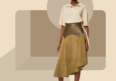 Fitted Skirt -- The Silhouette Trend for Women's Skirt
