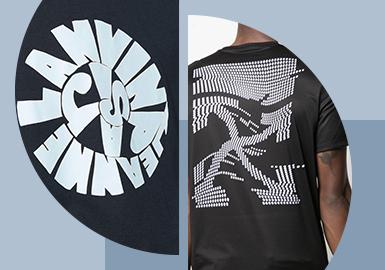Futuristic Letter -- The Pattern Craft Trend for Menswear