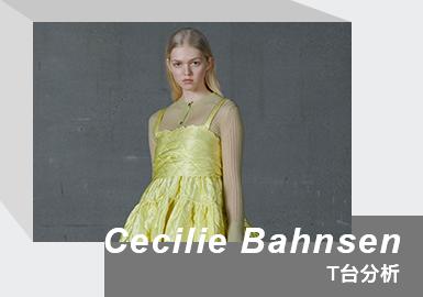 New Romantic Art of Scandi Spirit -- The Womenswear Catwalk Analysis of Cecilie Bahnsen