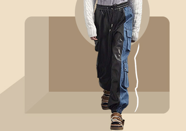 Comfort Extension -- The Silhouette Trend for Men's Trousers