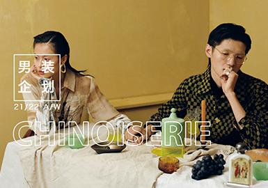 Chinoiserie -- Theme Design & Development for Menswear