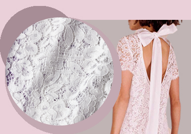 Newness of Lace -- The Fabric Trend for Women's Lace