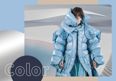 Balance and Coexistence -- The Color Trend for Men's Down Jacket