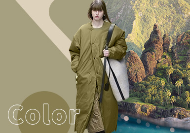 Green Moss -- The Color Trend for Womenswear