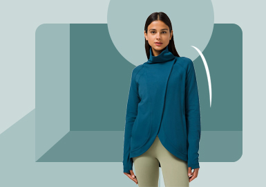 Exquisite Cut -- The Silhouette Trend for Yoga Outerwear
