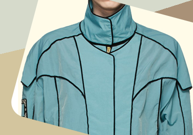 Ingenious Line -- The Detail Trend for Fashionable Sportswear