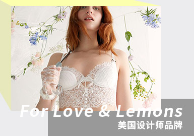 Sweet and Sexy Fairy -- The Analysis of For Love & Lemons The Women's Underwear Designer Brand