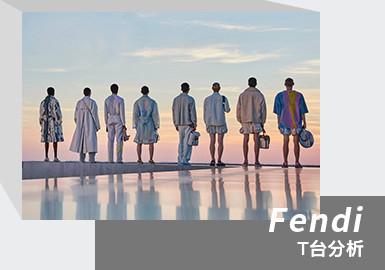 Rome's Dawn and Dusk -- The Menswear Runway Analysis of Fendi