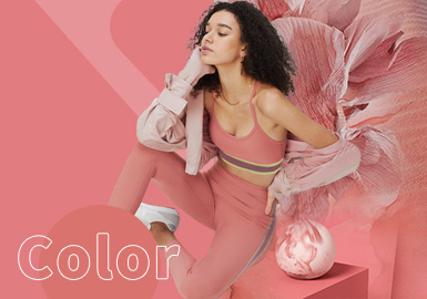 Lantana --  The Color Trend for Women's Yoga Clothing