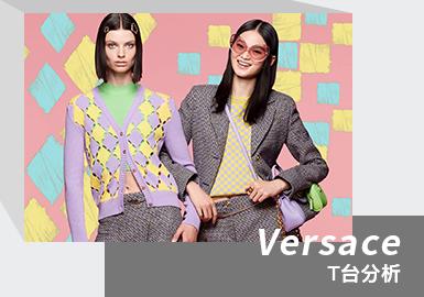 Joyous Sense -- The Womenswear Catwalk Analysis of Versace