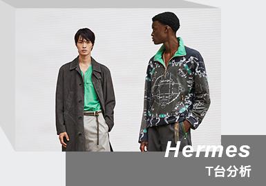 Light-heartedness & Freedom -- The Menswear Runway Analysis of HERMES