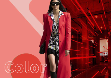 Spicy Orange -- The Color Trend for Womenswear