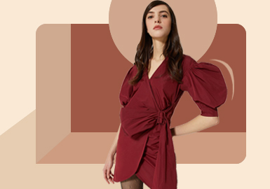 Sleeve Shaping -- The Silhouette Trend for Women's Dress